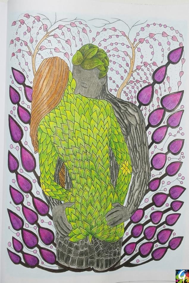 nos-secrets-derriere-les-feuillages-coloriage-1-gribouilleuse
