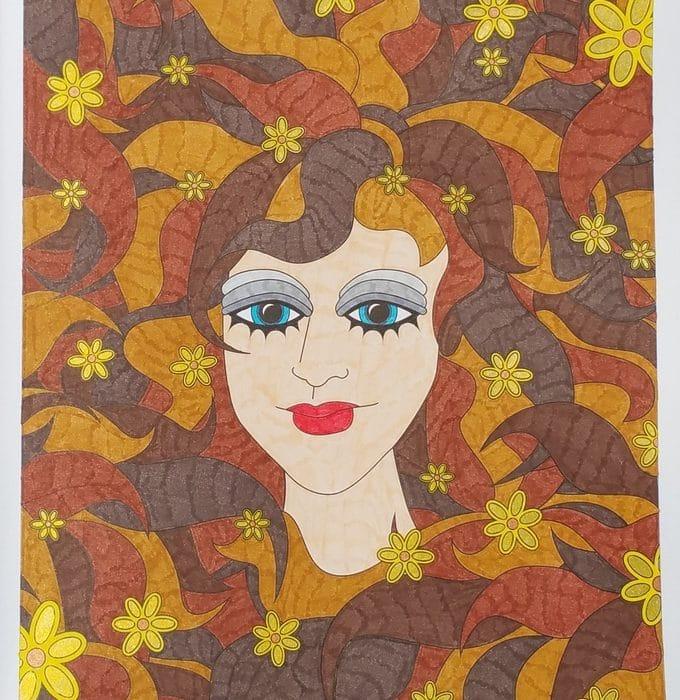 seventies coloriage 3