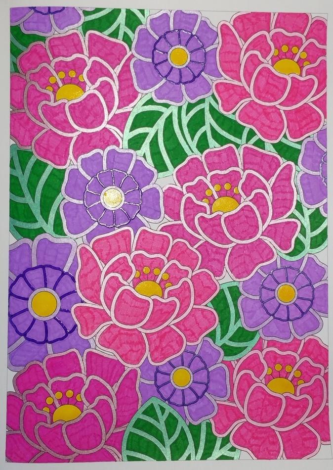 seventies coloriage 5