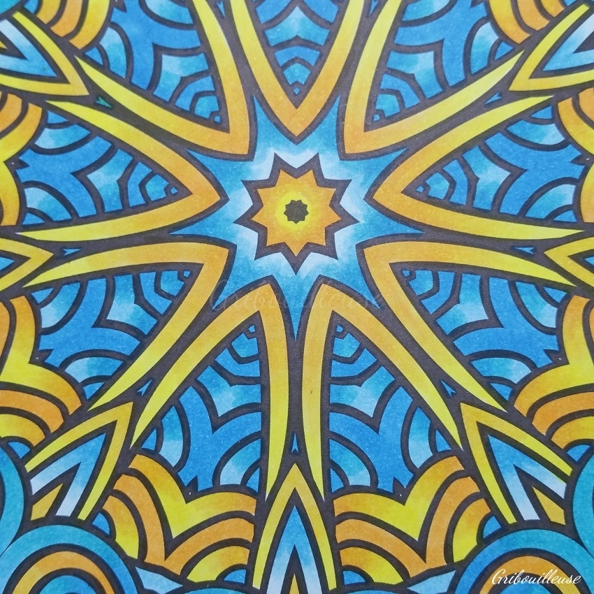 Carnet de coloriages Mandalas n°5