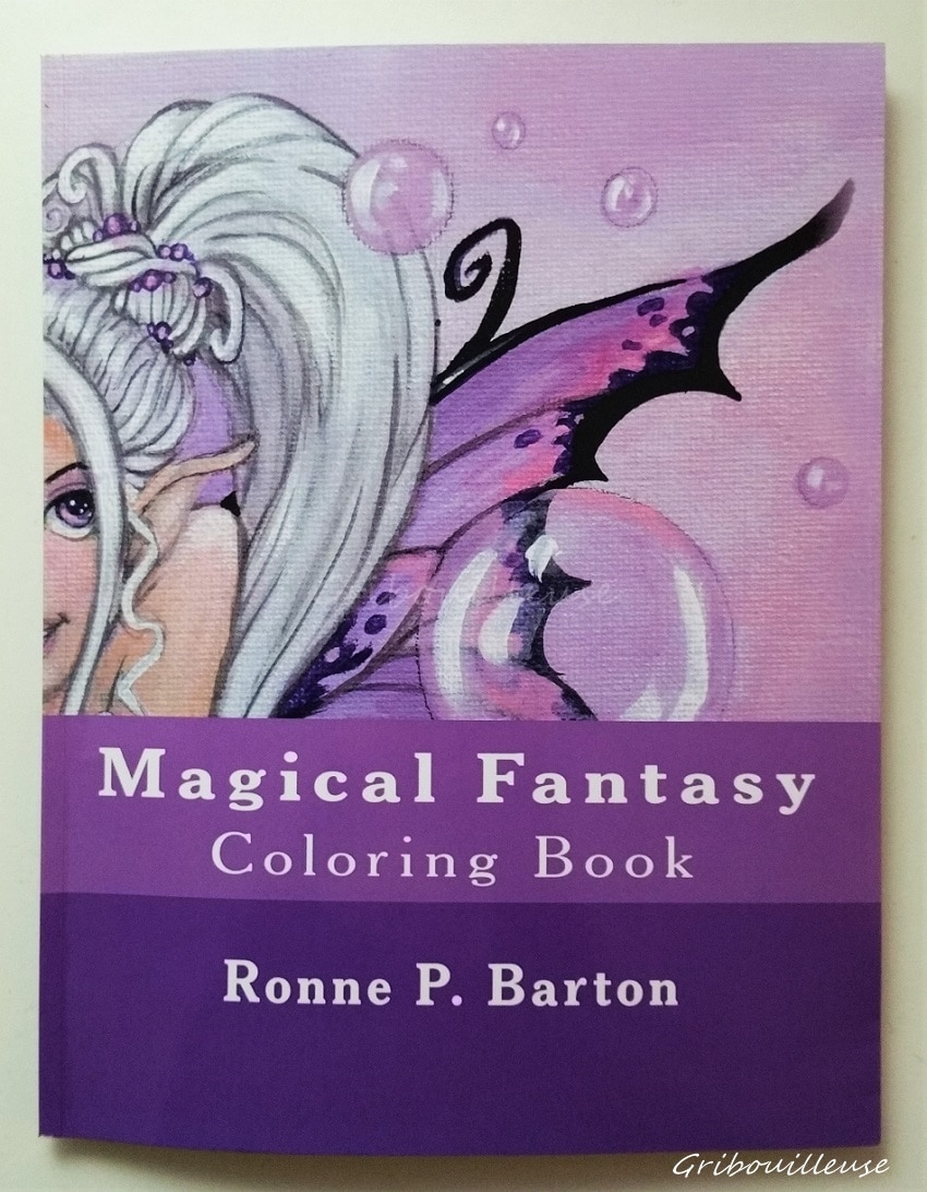 Magical Fantasy Coloring Book
