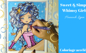 Sweet & Simple Whimsy Girls - Coloriage n°8