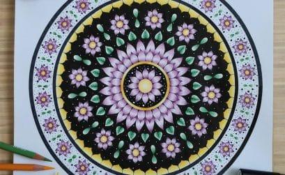 Nature Mandala n°9