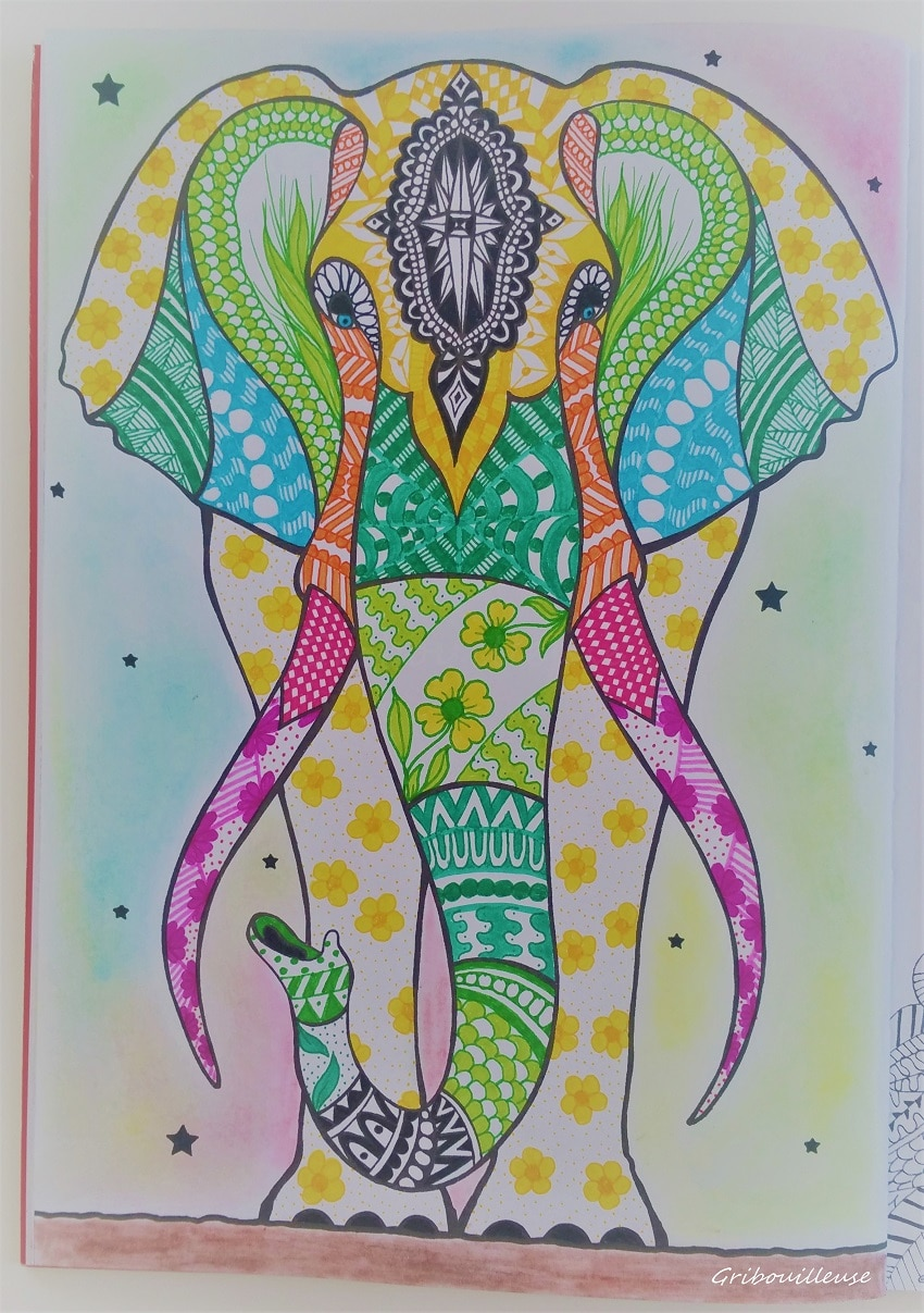Bestiaire Extraordinaire - Coloriage n°8