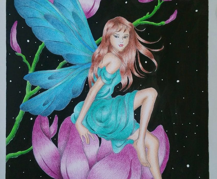 Fairies de Darcy MAY - Coloriage n°1
