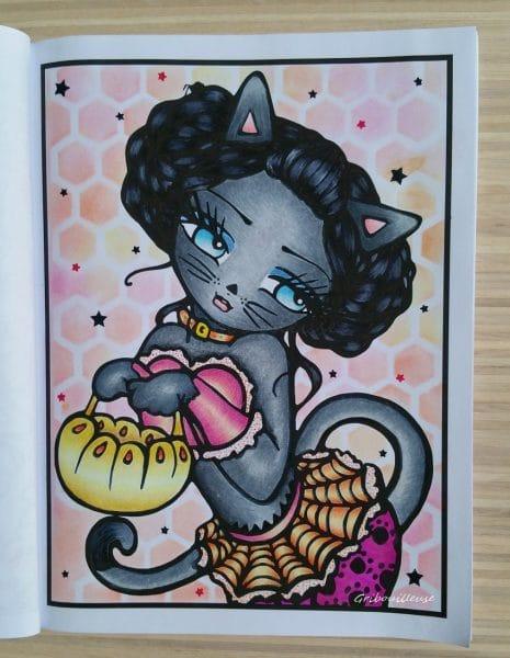 Sweet & Simple Whimsy Girls de Hannah Lynn - Coloriage n°10