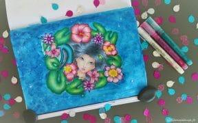 Magical Fantasy de Ronne P Barton - Coloriage n°6