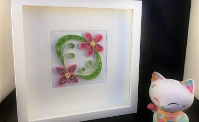 Quilling avec Mani The Lucky Cat