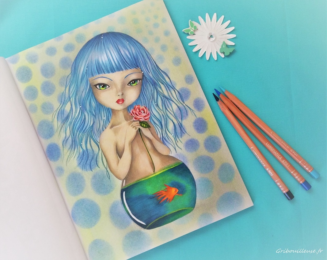SURREAL FANTASY Color My Art by Ikuko