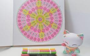 Coloriage n°18 Nature Mandala par Armelle TROYON