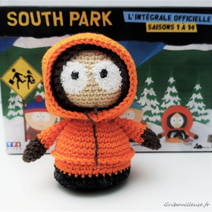 Amigurumi - Kenny McCormick - South Park