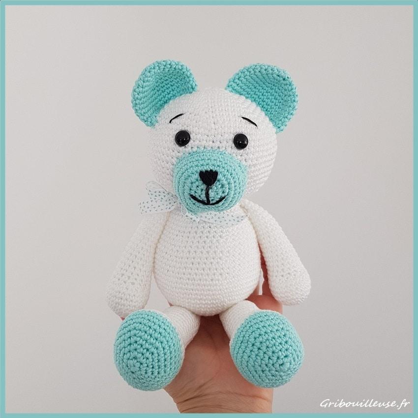 Amigurumi, ourson au crochet