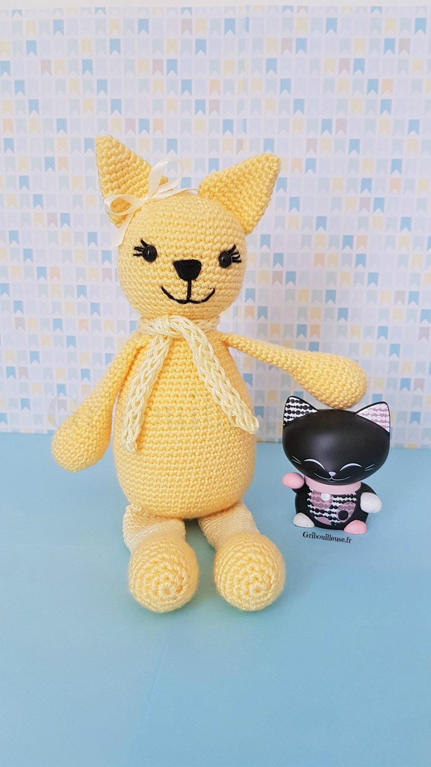 Amigurumi - Chat au crochet