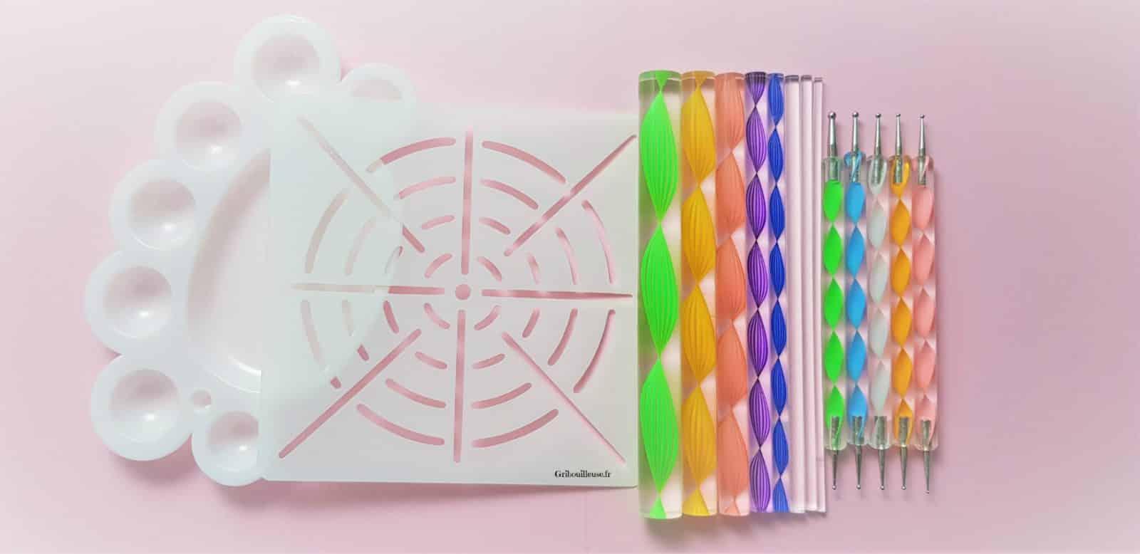Dotting Mandala - Kit de matériel