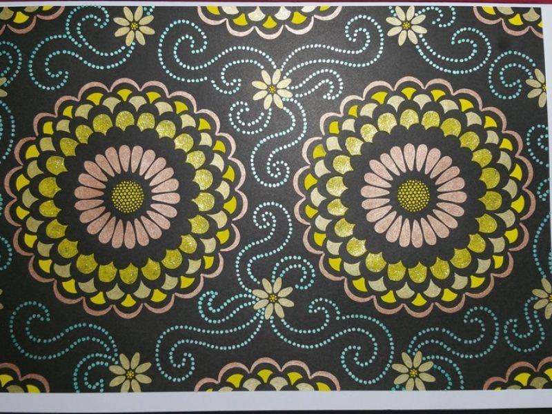 Coloriage Fond Noir