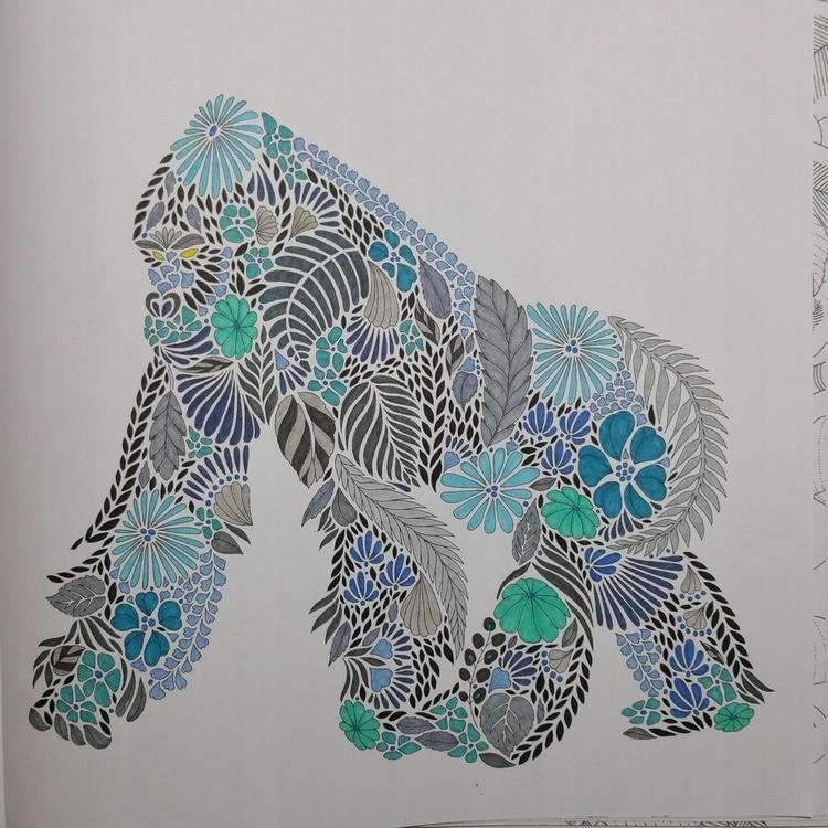 Animaux Fantastiques Gorille