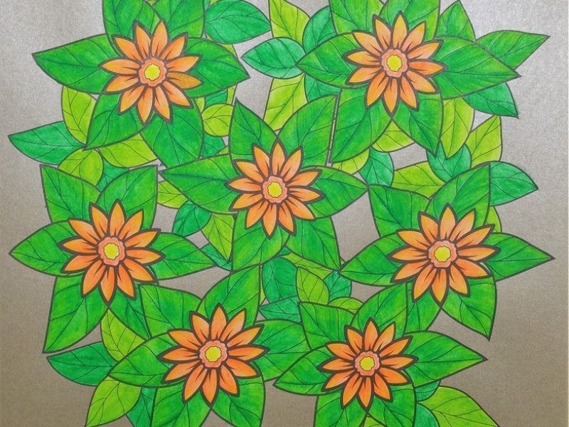 Fleurs exquises 8