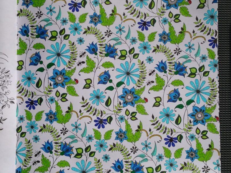 Jardin secret Fleur Bleue