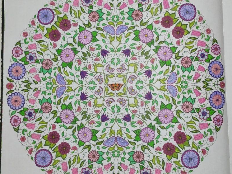 Mandala Fleuri