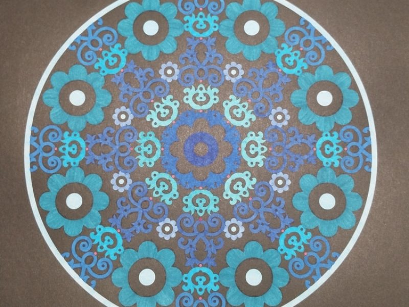 Mandala BleuBleuBleu