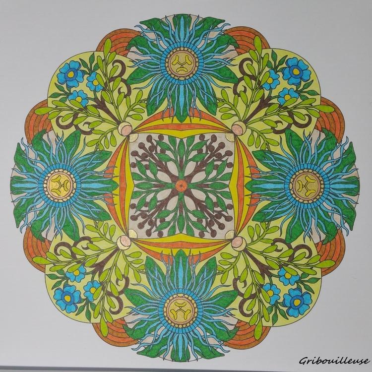 Mandalas fleuris 2