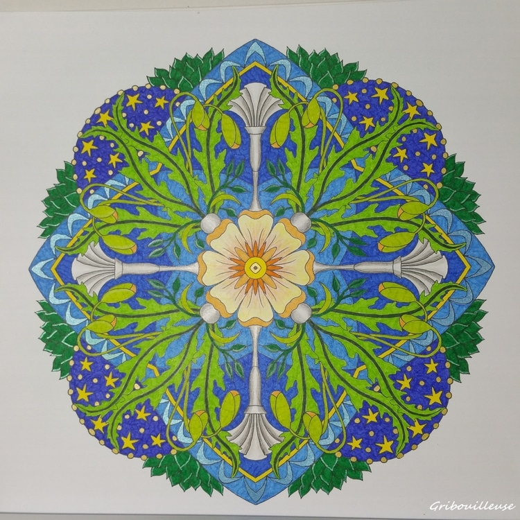 Mandalas fleuris 3