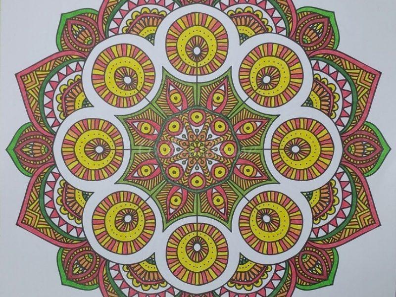 Carnet de coloriages Mandalas 1