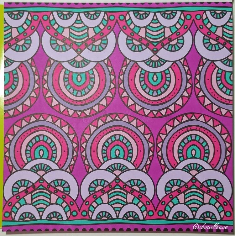 Carnet de coloriages Mandalas 4