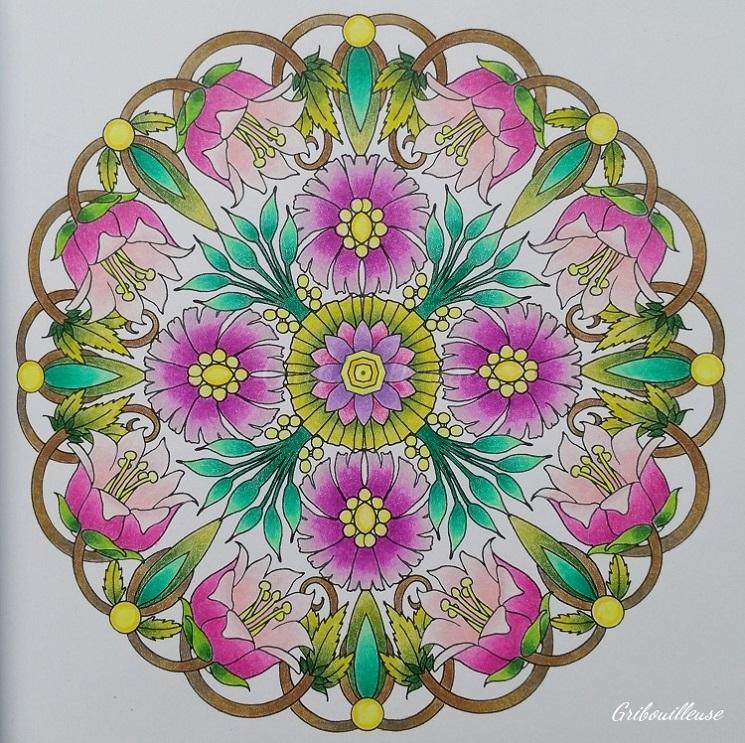 Mandalas Fleuris 5