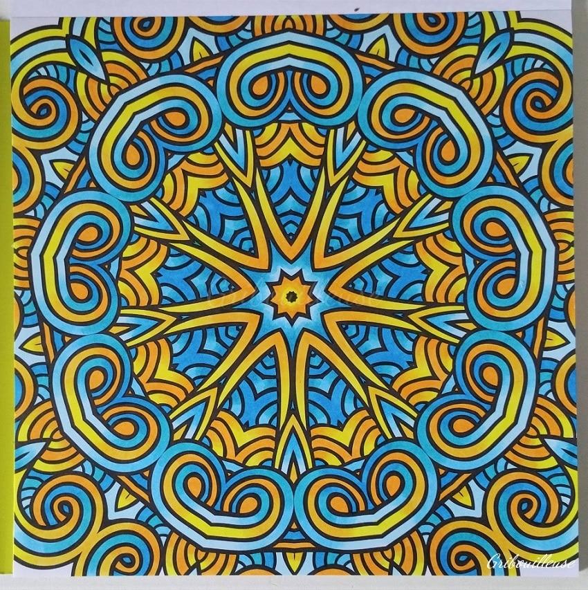 Carnet de coloriages Mandalas 5