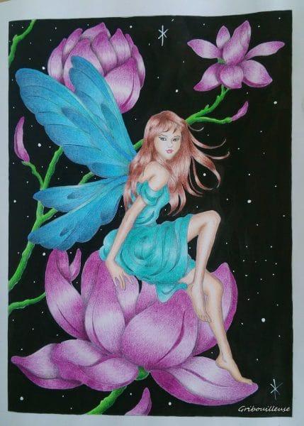 Fairies de Darcy MAY - Coloriage n°1