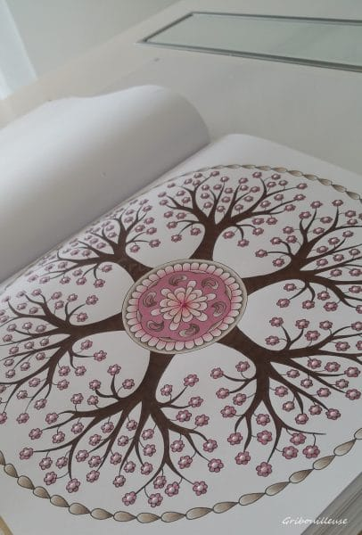 Nature Mandala de Armelle Troyon - Coloriage n°10
