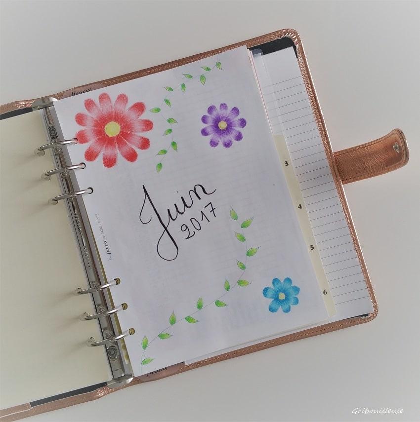 J'ai commencé un Bullet Journal !