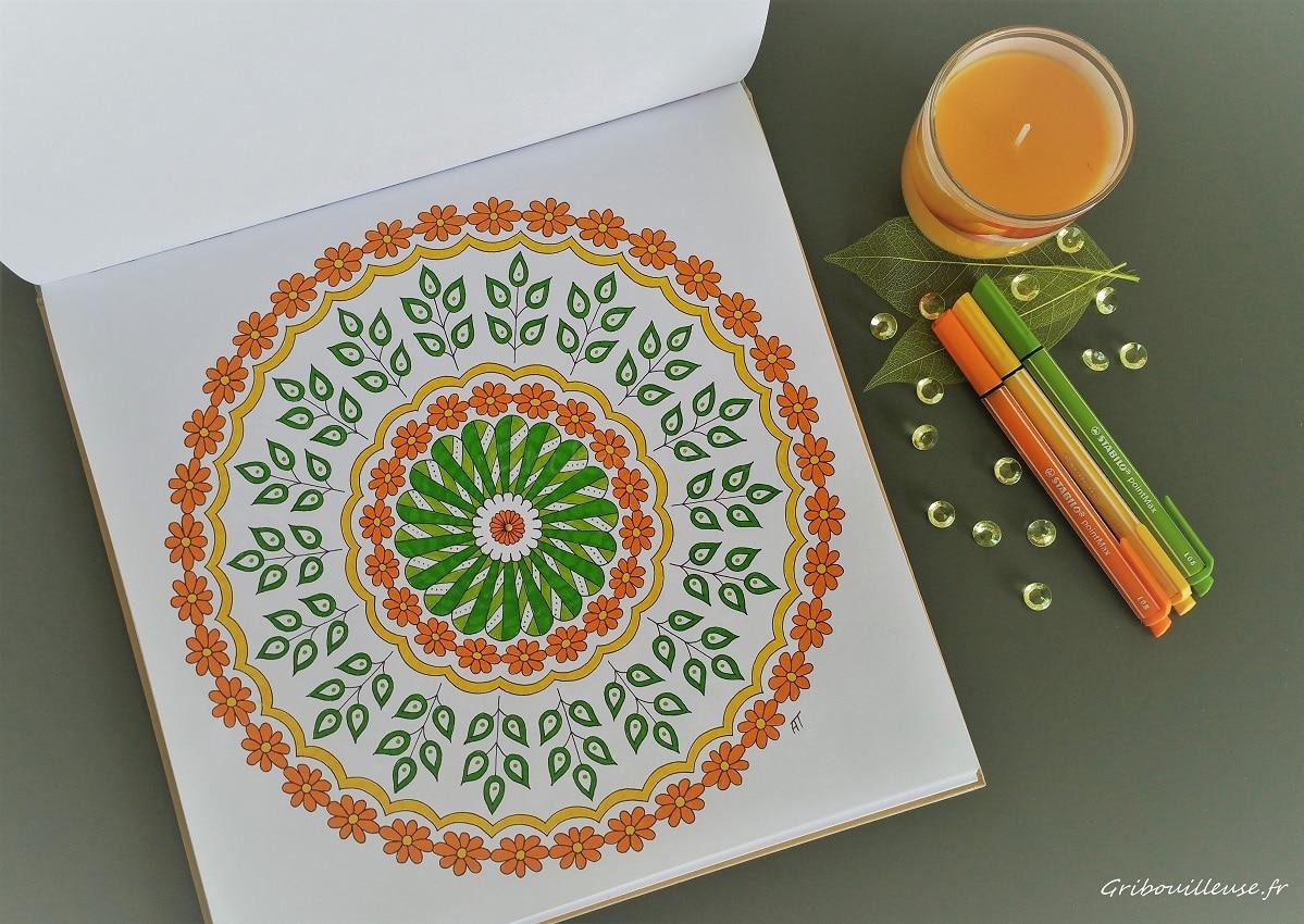 Nature mandala - Armelle Troyon - Coloriage n°13