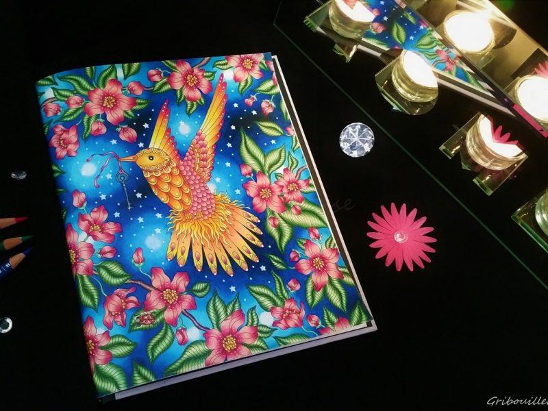 Magical Dawn, deuxième coloriage tout Prismacolor