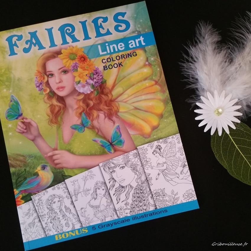 Fairies Line Art