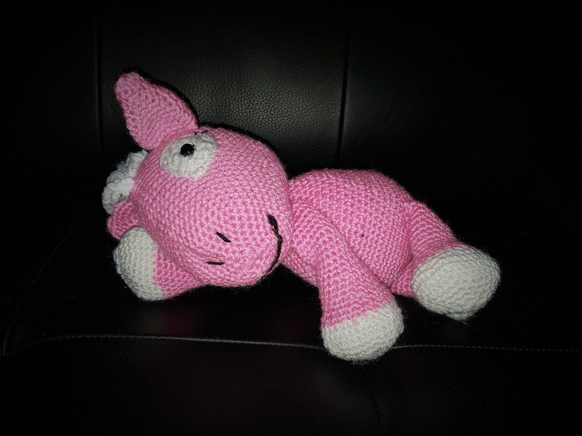 Amigurumi Poney