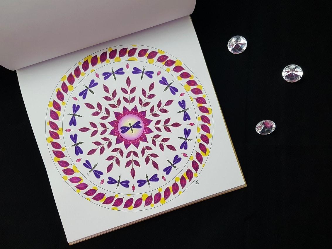 Mandala Libellules