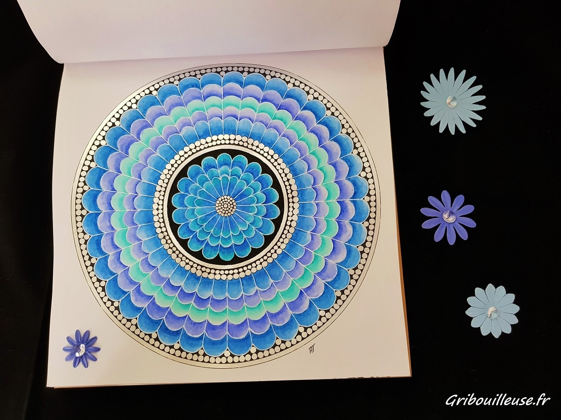 Nature Mandala Aquarelle