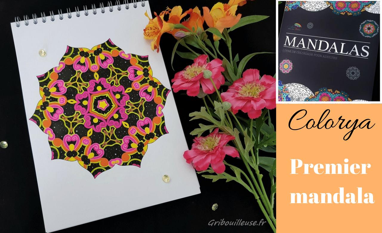 Read more about the article Mon premier Mandala Colorya