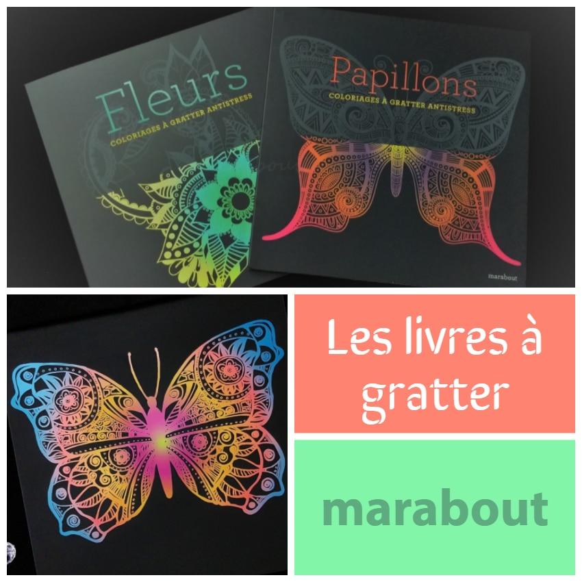 Livres à gratter Marabout