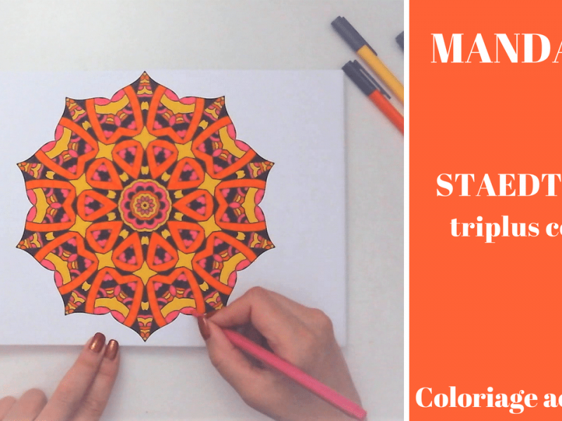 Colorya – Speed coloring Mandala
