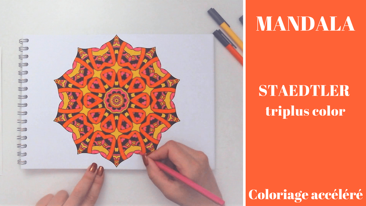 Read more about the article Colorya – Speed coloring Mandala