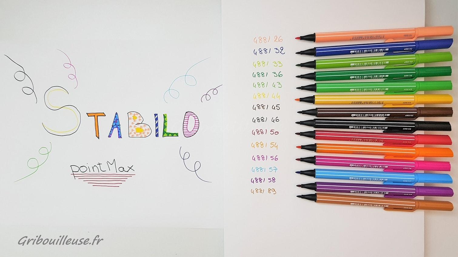 STABILO pointMax