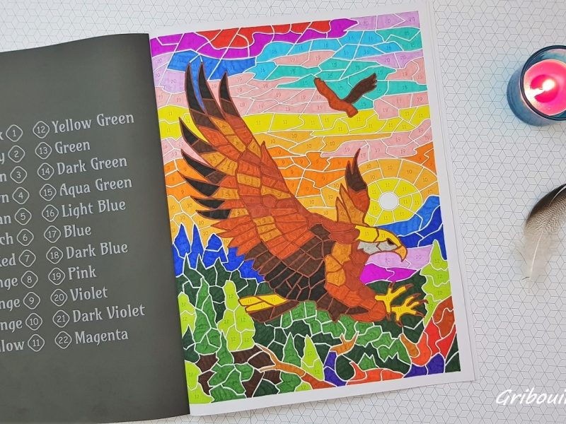 Animal Mosaic : Aigle