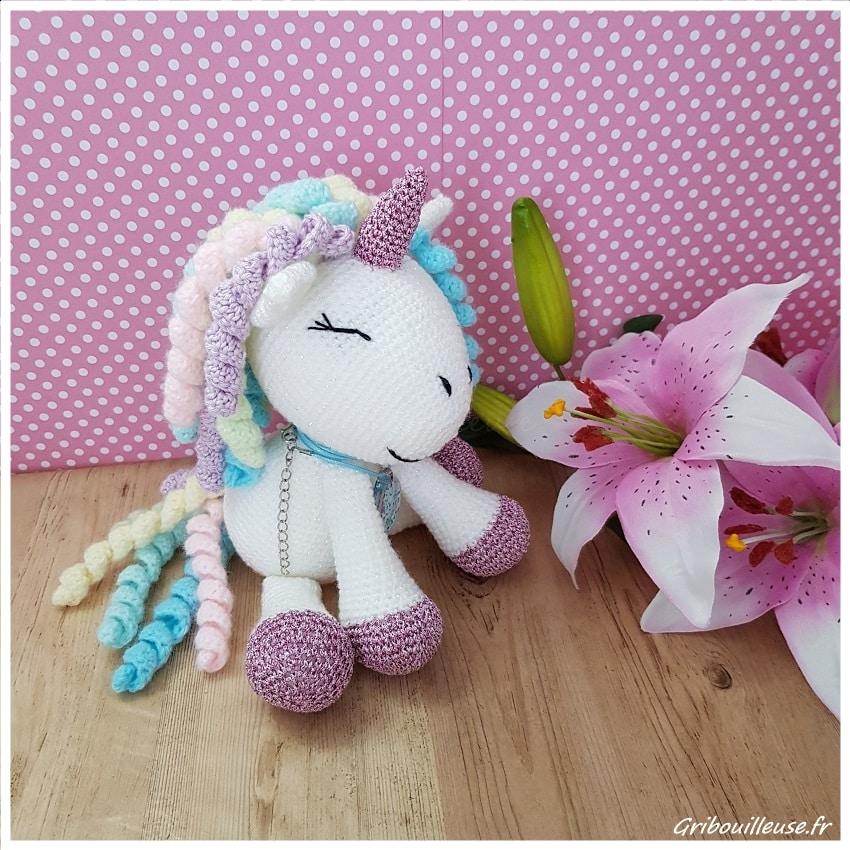 Amigurumi - Licorne au crochet