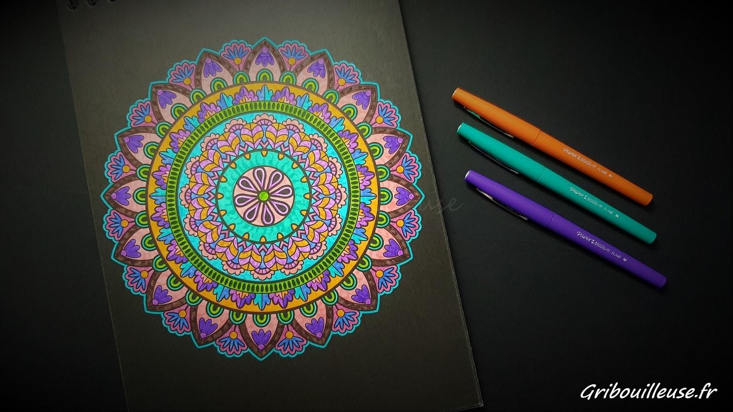 Mandalas Nuit – PaperMate Flair