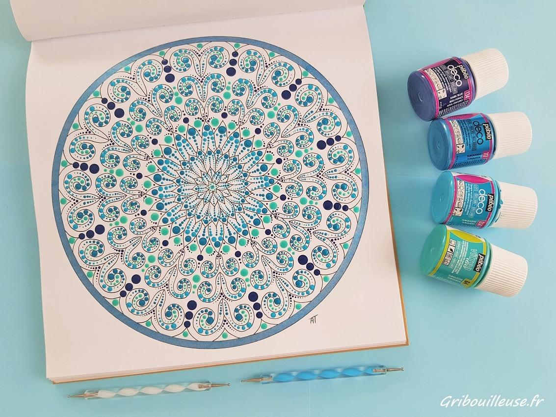 Nature Mandala façon dotting