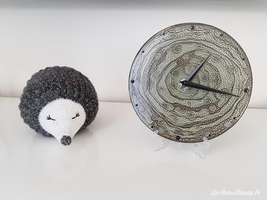 Mon horloge personnalisée avec Pébéo Prisme