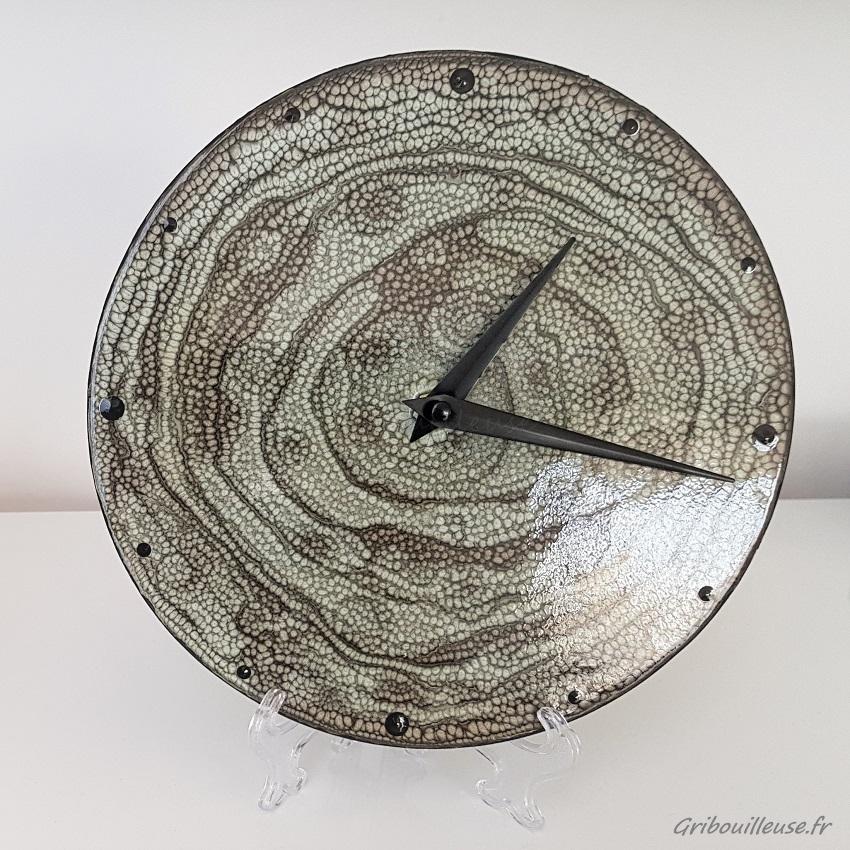 Horloge personnalisée Pébéo Prisme